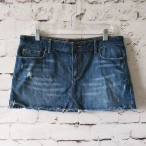 Abercrombie & Fitch Mini Denim Skirt 10